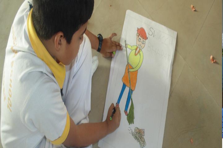Balaji High School-Drawing Activity