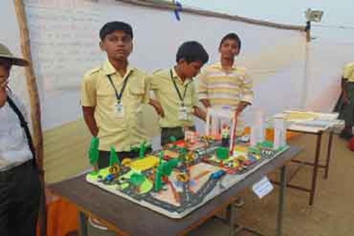 Balaji High School-Science Exhibition