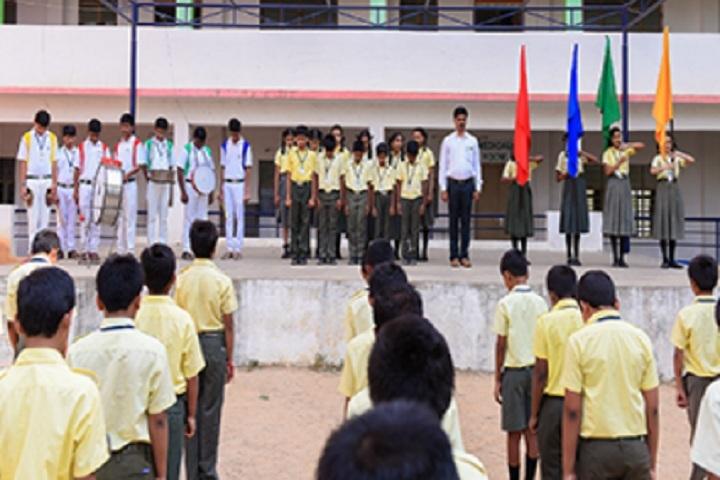 Balaji High School-Invvestiture Ceremony