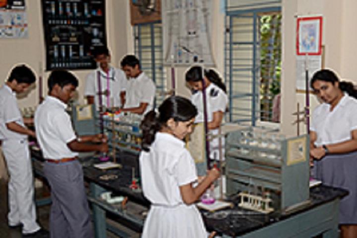 Bharatiya Vidya BhavanS Public School- Chemistry Lab