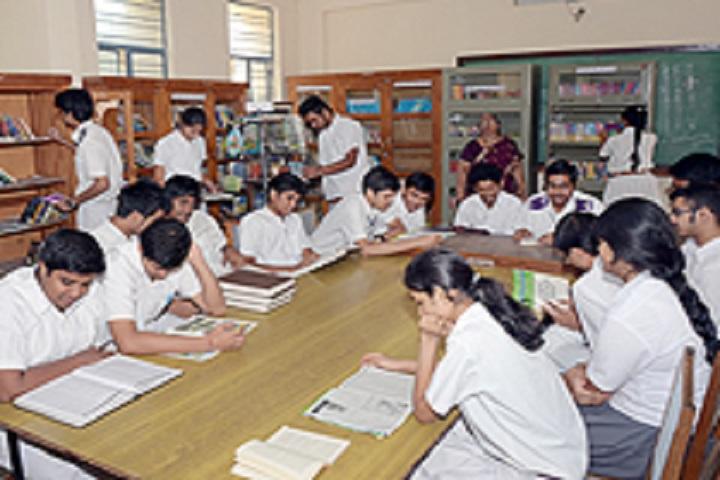 Bharatiya Vidya BhavanS Public School-Library