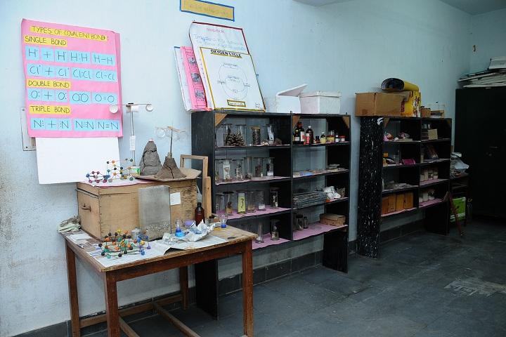 Bharatiya Vidya BhavanS Vidyashram- Biology Lab
