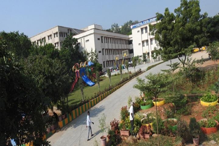 Bharatiya Vidya Bhavans Atmakuri Rama Rao School-Campus View