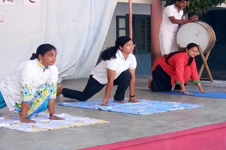 Bharatiya Vidya Bhavans Public School-Yoga Day