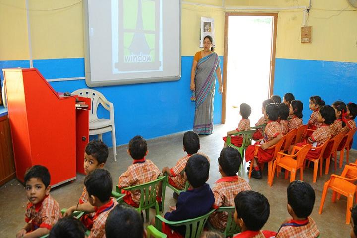 Bhartiya Vidya Bhawan-Kids Classroom