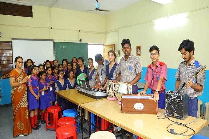 Bhartiya Vidya Bhawan-Music Room