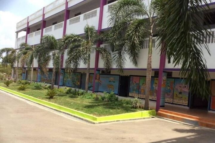 Blooming Minds Central School-Campus Side View