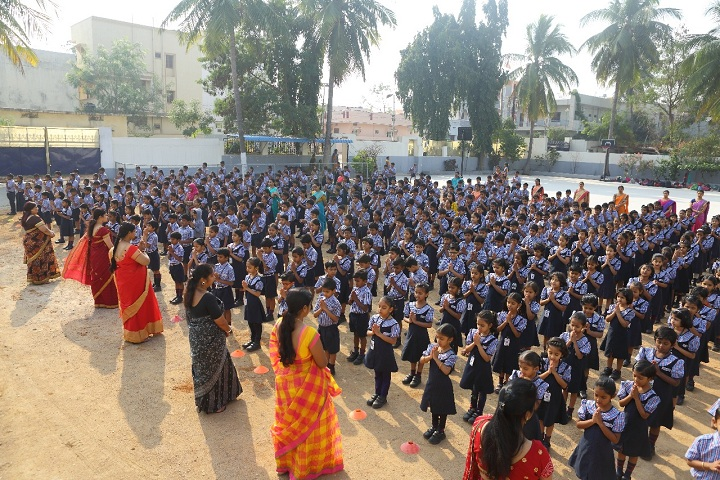 Brigade Public School-Assembly