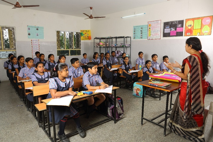 Brigade Public School-Classroom
