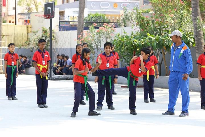Brigade Public School-Karate