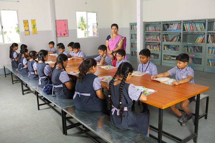 Brigade Public School-Library