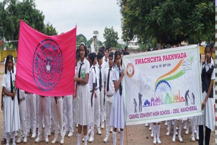 Carmel Convent School-Swachchta Pakhwada