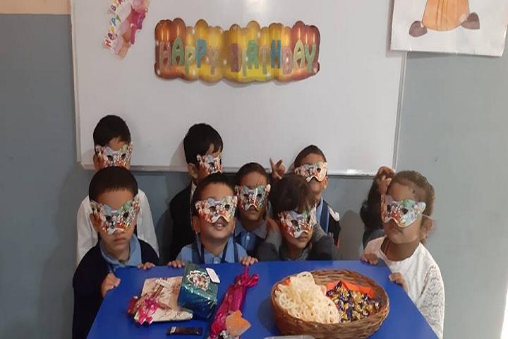 Cmr International School-Birthday Celebrations