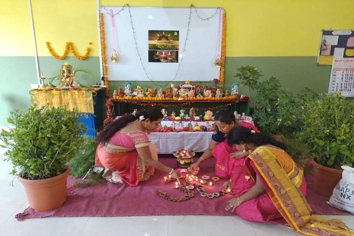 Cmr International School-Diwali Celebrations