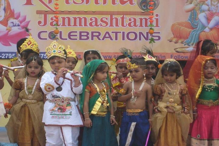 Cmr International School-Janmastami Celebrations