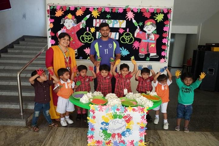 Cmr International School-Holi Celebrations