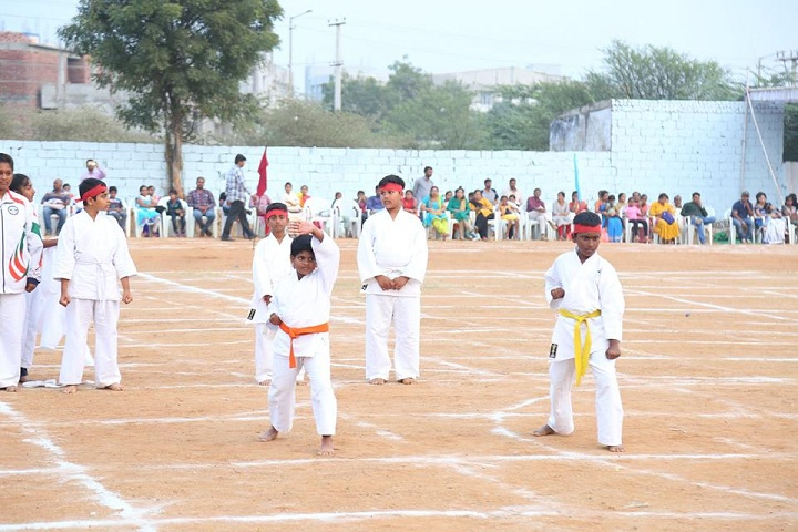 Cmr International School-Karate
