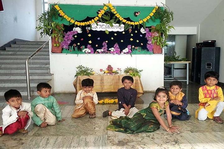 Cmr International School-Ugadhi Celebrations