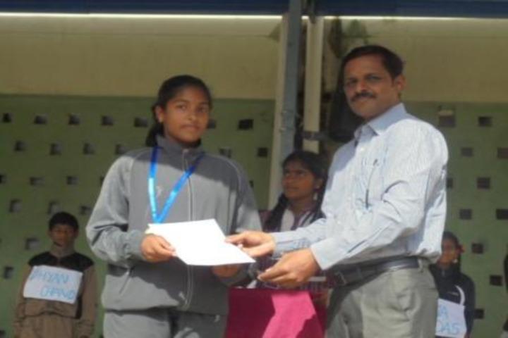 DAV BDL Public School-Annual Prie Distribution