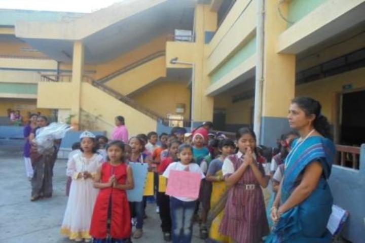 DAV BDL Public School-Morning Assembly