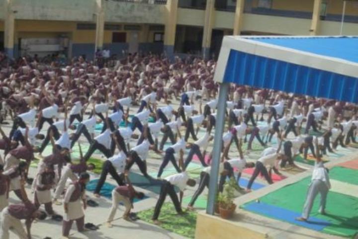 DAV BDL Public School-Yoga Day