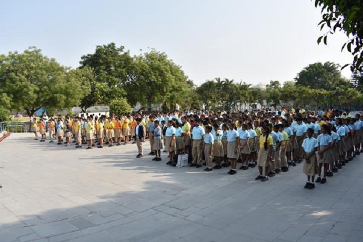 D R S International School-Assembly