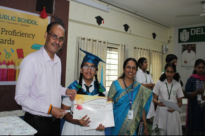 Delhi Public School-Academis Proficienly Awards