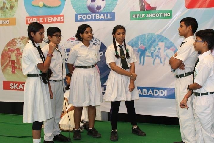 Delhi Public School-World Earth Day