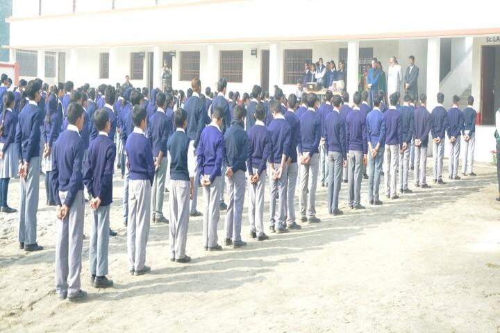 Rajanikant Public School-Assembly