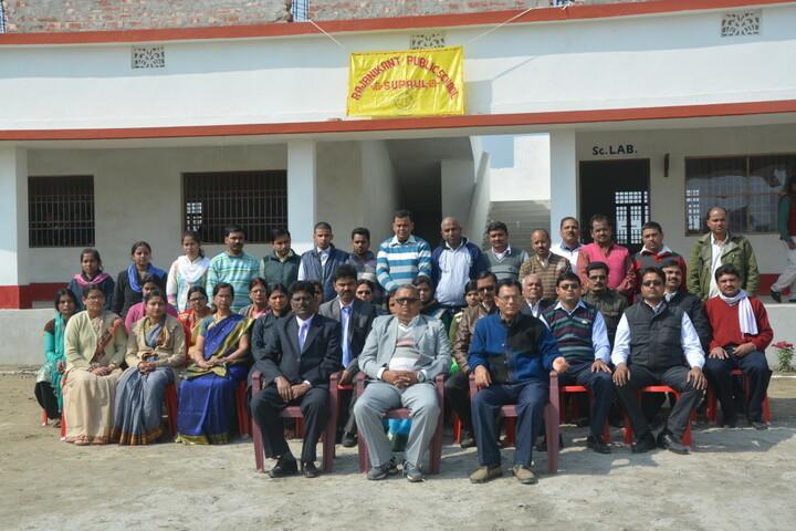 Rajanikant Public School-Staff