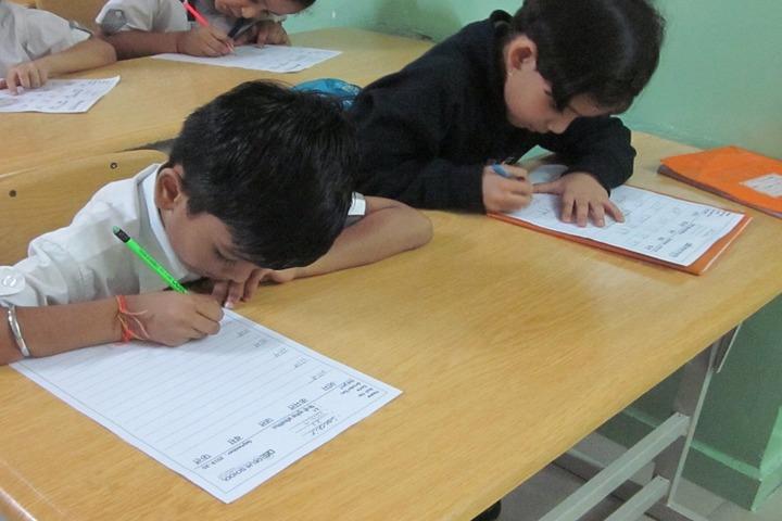 Delhi School Of Excellence-Creative Writting Activity