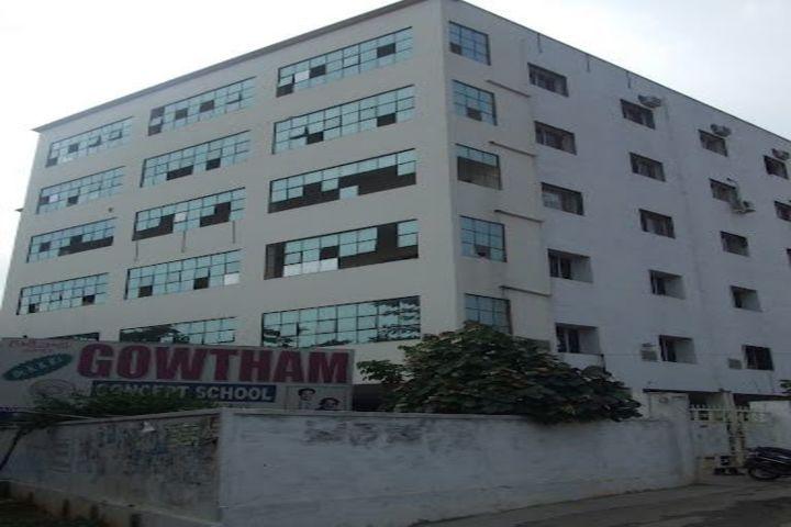 Dr K K RS Gowtham Concept School-School Building
