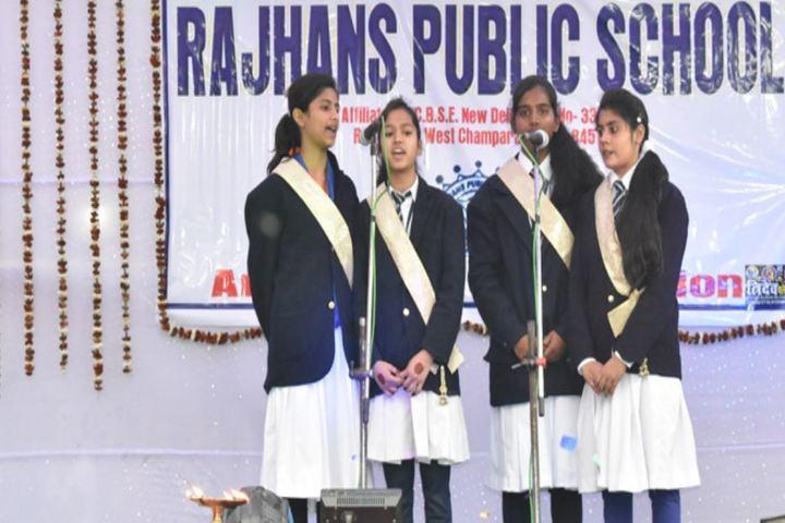 Rajhans Public School-Singing