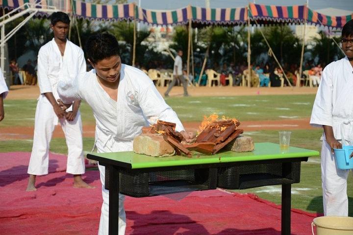 Global Indian International School-Karate