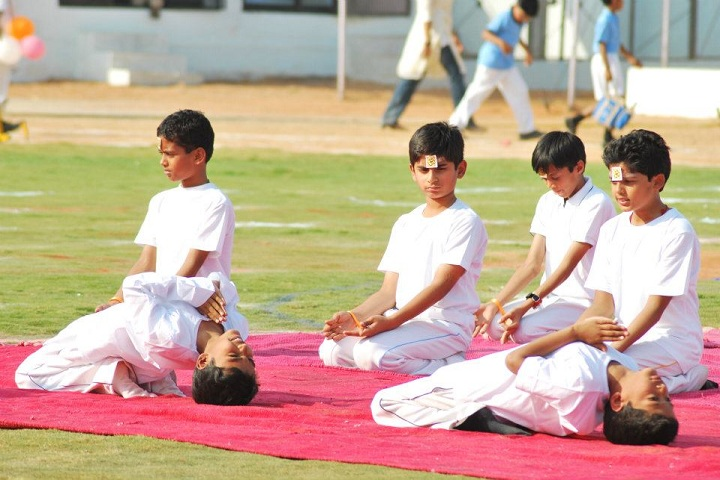 Global Indian International School-Yoga
