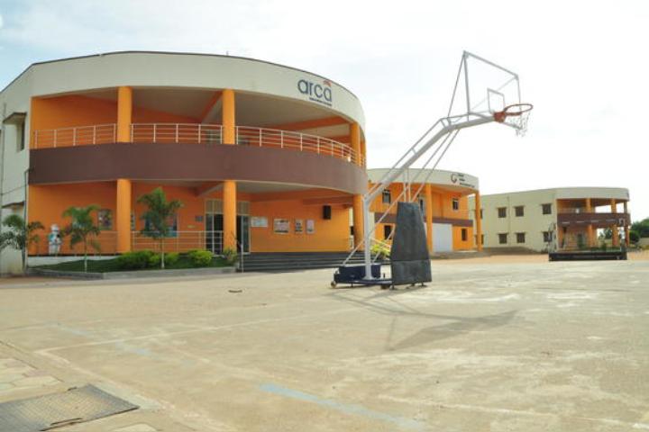 Global Indian International School - Basketball Area