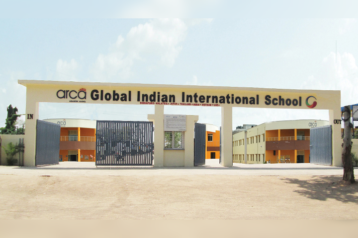 Global Indian International School - School Front View