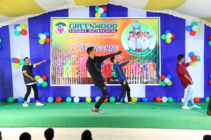 Greenwood High School-Freshers Day
