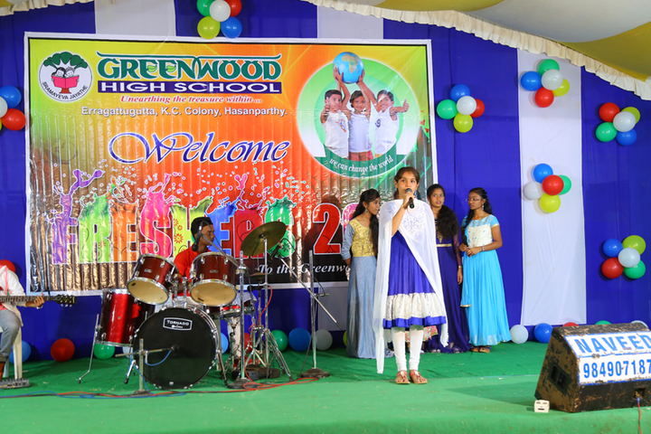 Greenwood High School-Singing
