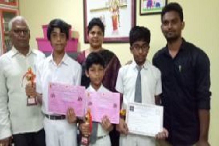 Harvest Public School-Chess Competition Winners