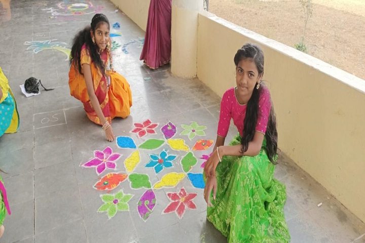 HRD School Of Excellence-Rangoli Competition