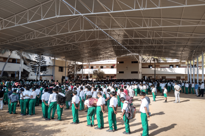 Chaitanya Central School-Assembly