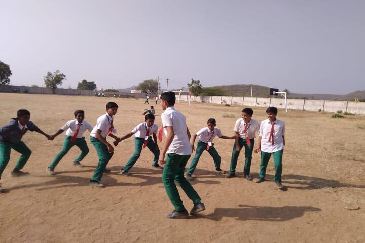 Chaitanya Central School-Playground