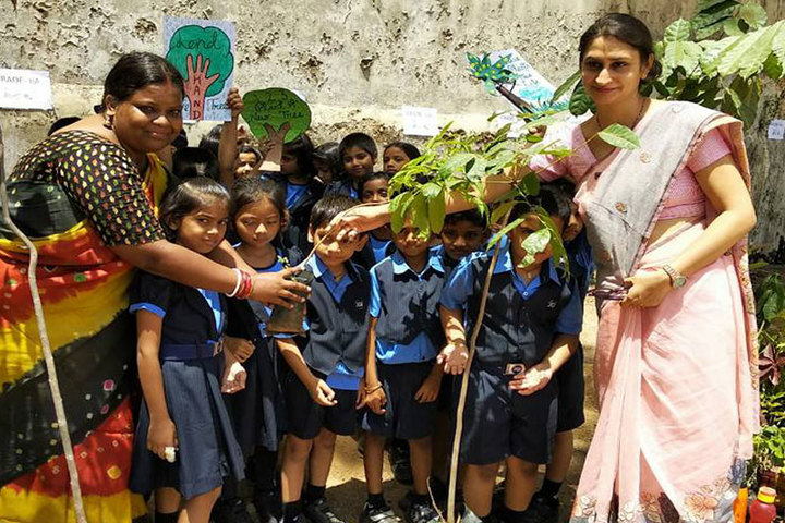 Jain Heritage A Cambridge School-Tree Plantation