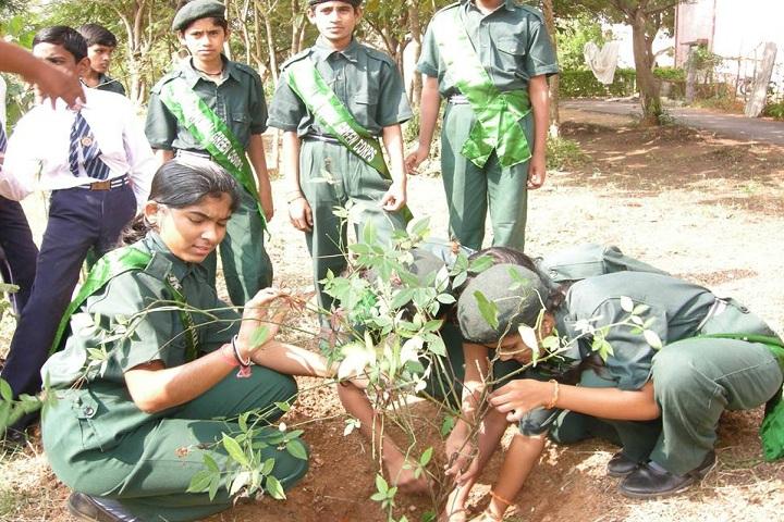 Jawahar Navodaya Vidyalaya-Plantation Day