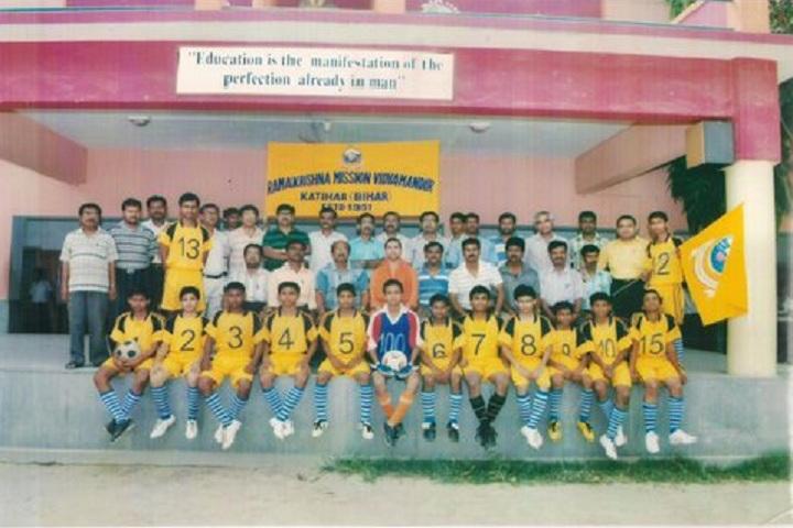 Ramakrishna Mission Vidyamandir-Sports Meet