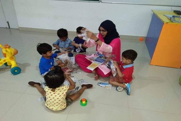 Kairos Global School-Activities for Nursery Children