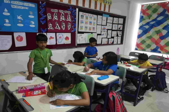 Kairos Global School-Drawing Competition
