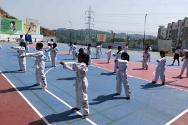 Kairos Global School-Karate Activity