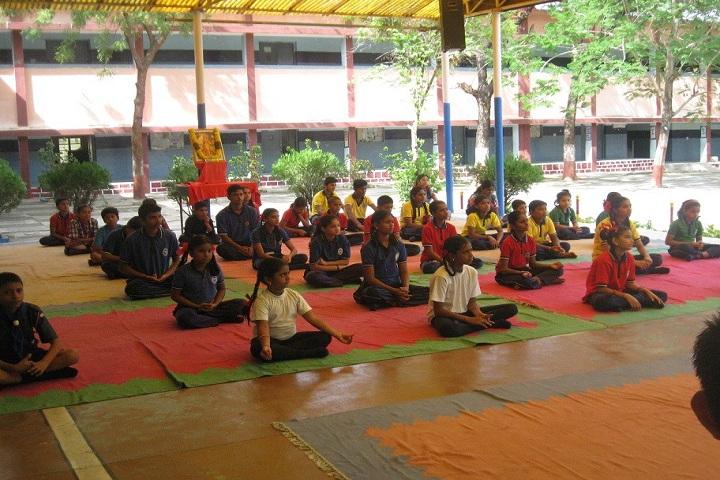Kendriya Vidyalaya-International Day Of Yoga